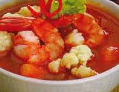 Resep masakan indonesia sup udang spesial (istimewa) khas Jepara praktis mudah sedap, gurih, enak, nikmat lezat