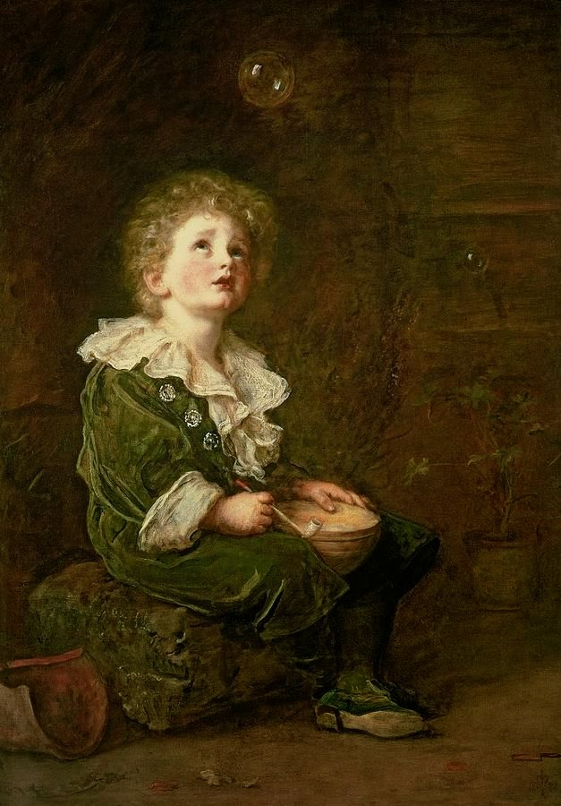 """Bubbles"" by Millais"