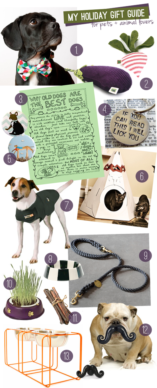 holiday gift guide for pets and animal lovers