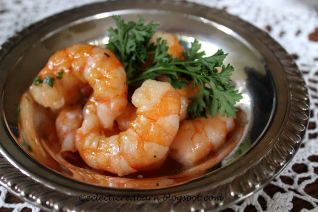 Eclectic Red Barn: Easy Cilantro Lime Shrimp