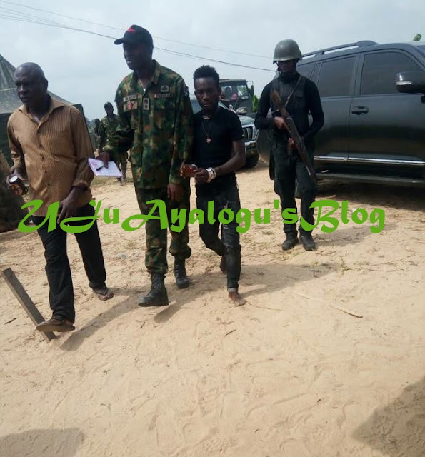 Dangerous Militant, Karowei, Who Beheaded A Naval Officer Arrested In Delta State (Photos)