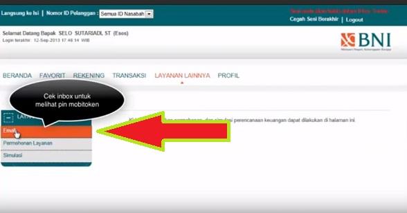 Cara Menggunakan BNI m-Secure