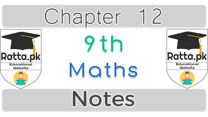 Chapter 12 Line Bisectors and Angels Bisectors 9th Maths