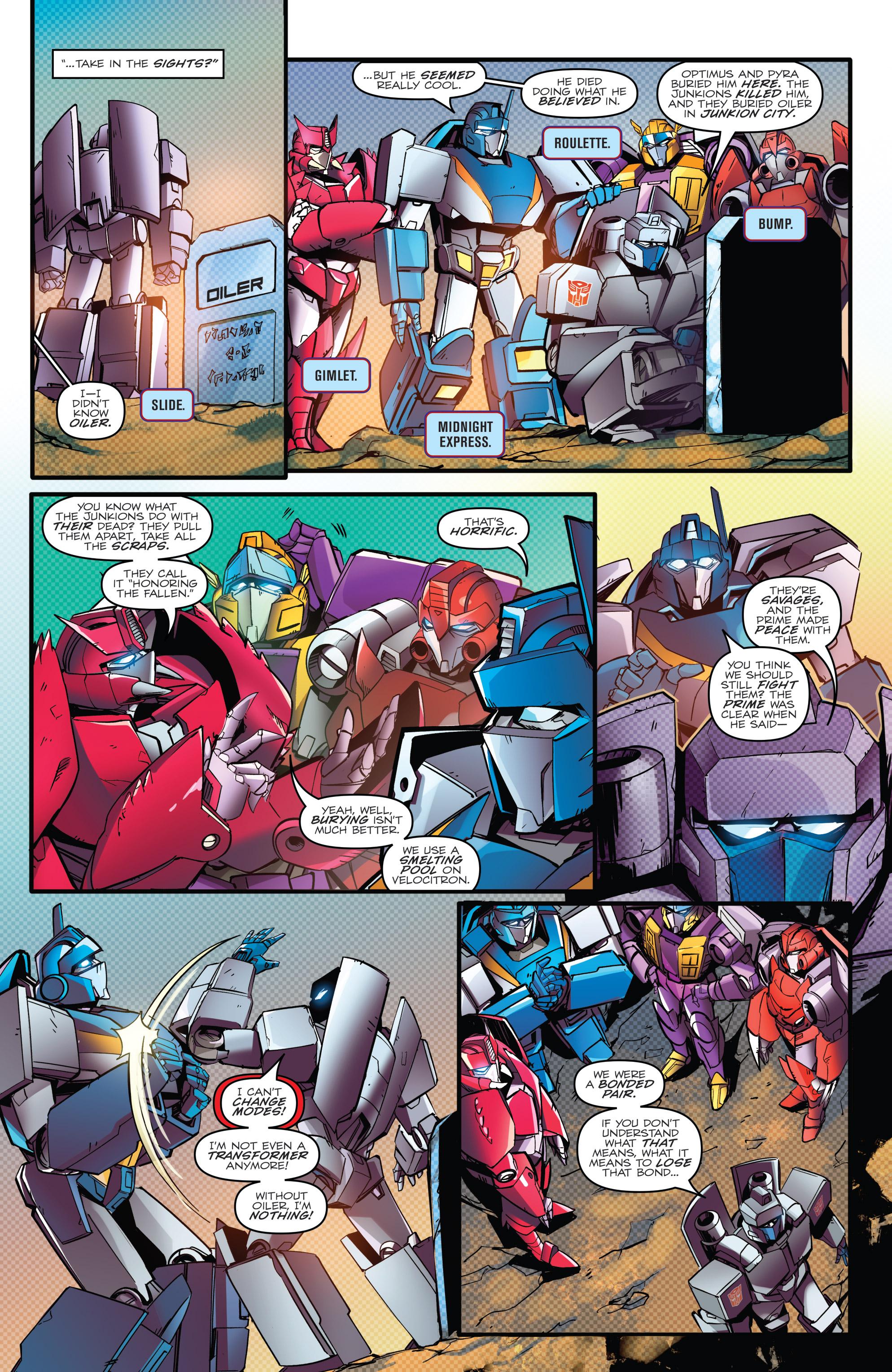Read online Optimus Prime comic -  Issue #7 - 17