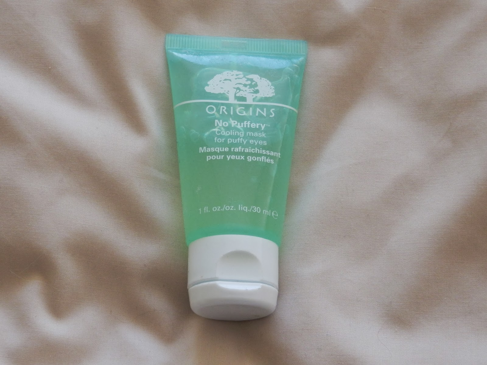 Origins No Puffery cooling mask for puffy eyes