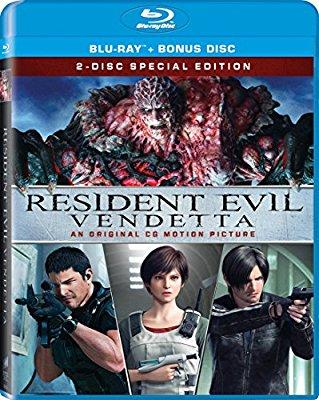 Resident Evil Vendetta 2017 English Movie Download