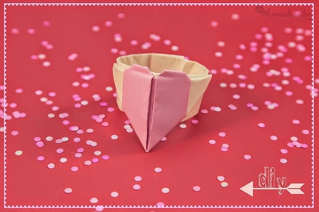 Easy Origami Ring DIY - Red Ted Art - Make crafting with kids easy ... | 420x630
