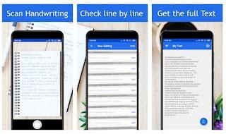 افضل برامج وتطبيقات التعرف البصري على الكتابة بخط اليد