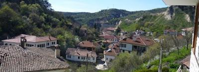 Vistas de Melnik desde la Casa de Kordopulova.