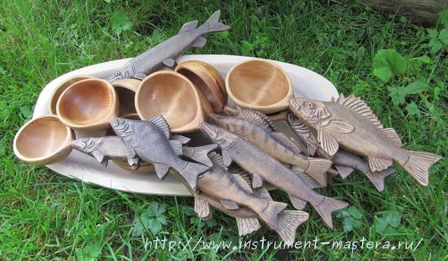 Деревянные ложки-поварешки
