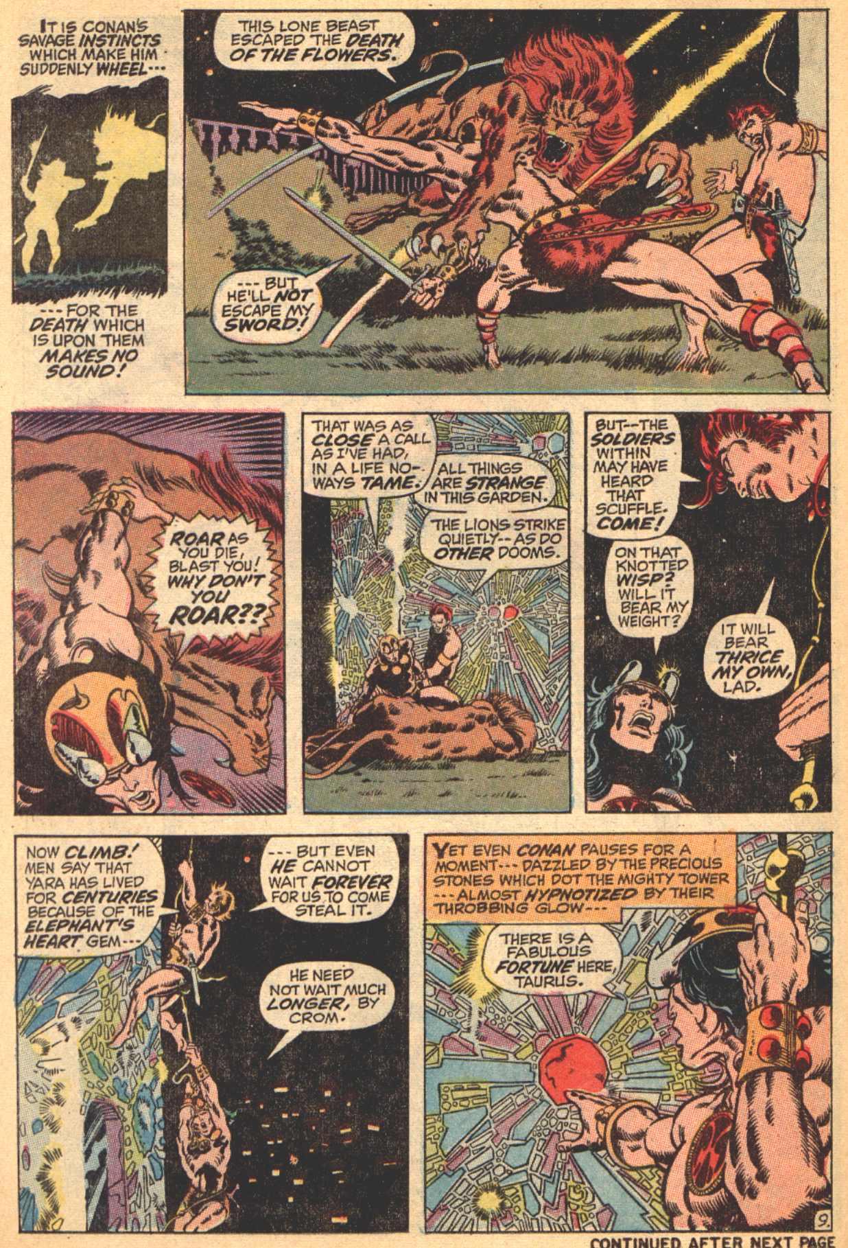 Conan the Barbarian (1970) Issue #4 #16 - English 10