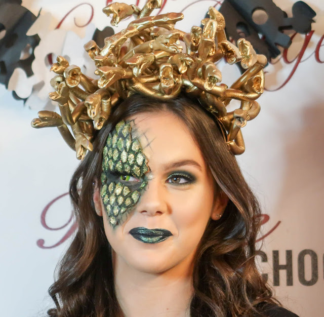 Danielle Levy, So Coco Rouge, Eve Jenkins MUA, Halloween Makeup Masterclass, Liverpool blogger, makeup, jeffree star cosmetics, barry m, hunt or dye contacts, youtube, makeup for ever,