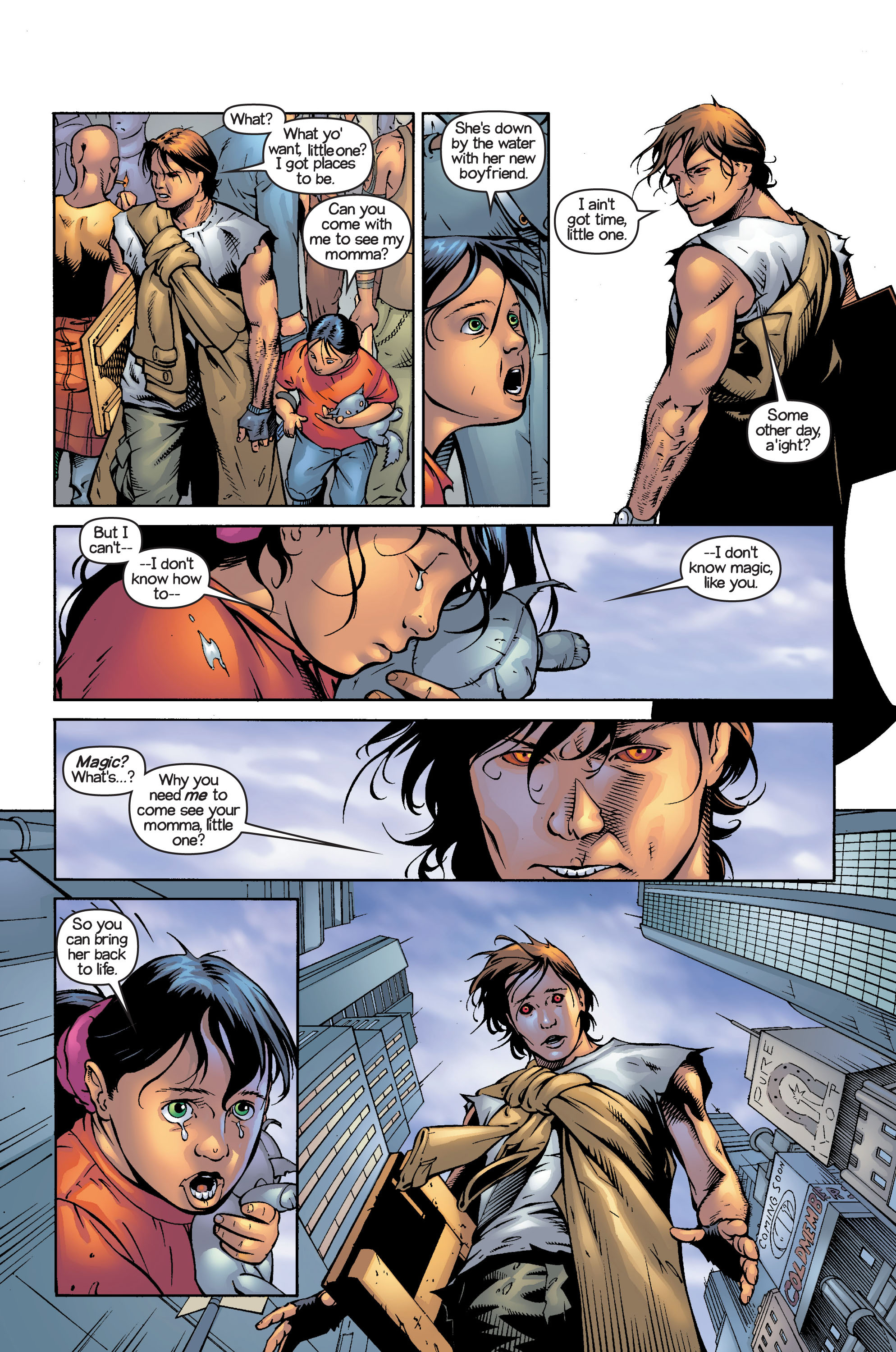 Read online Ultimate X-Men comic -  Issue #13 - 13