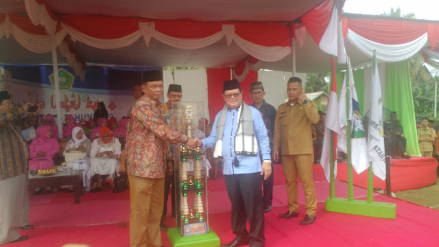 Bupati H Syarif Hidayat Buka MTQ Ke-V Kabupaten Muratara