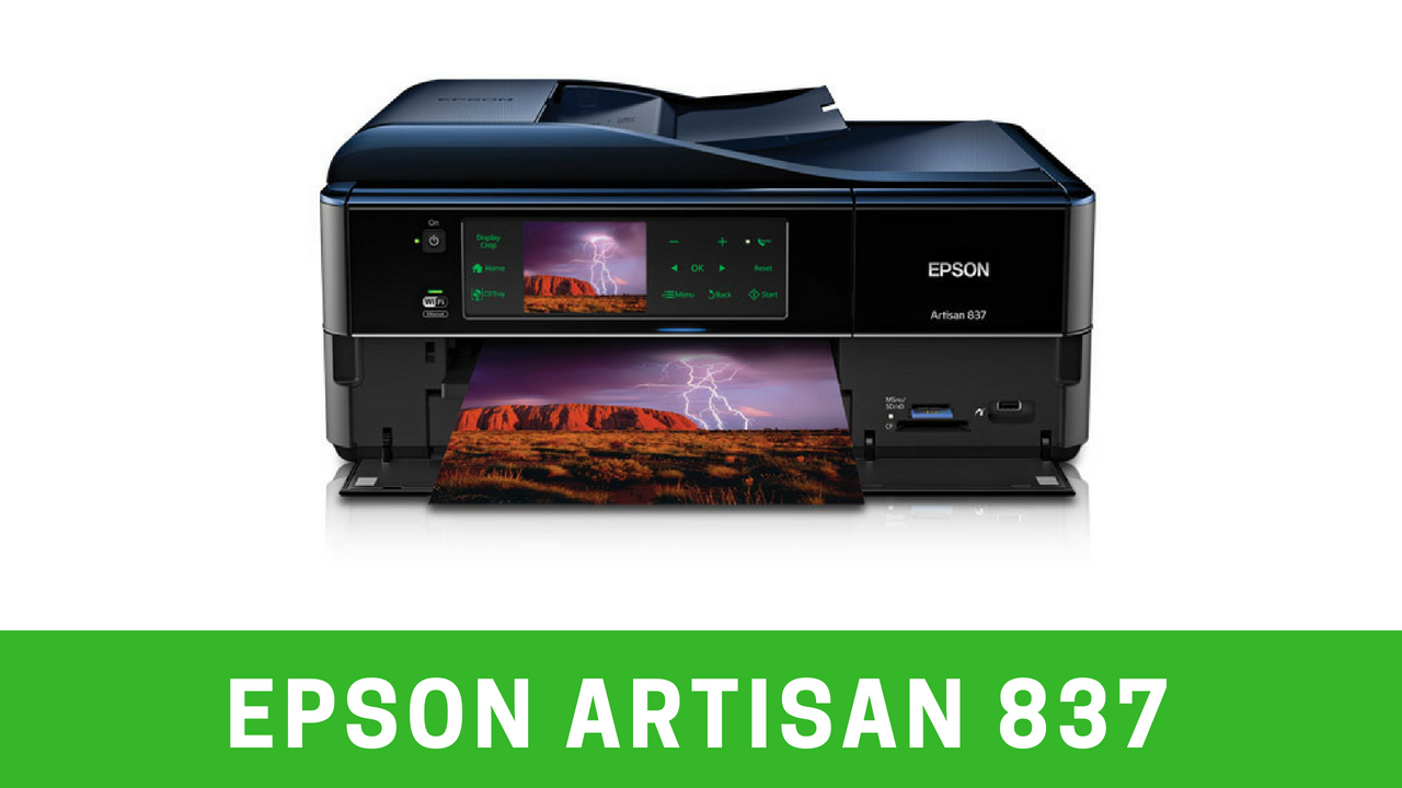 Epson Artisan 837 Driver Download and Manual Setup - HP