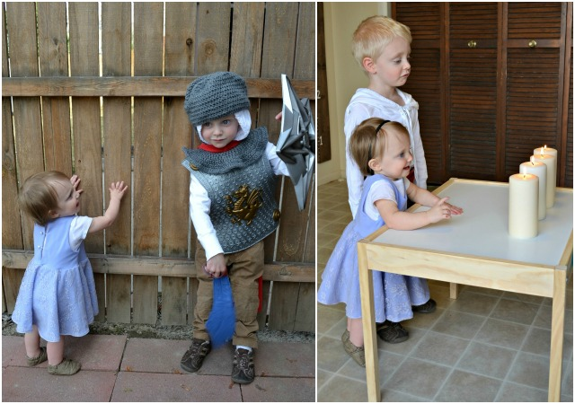 Sew Inspired: Young King Arthur and Guinevere