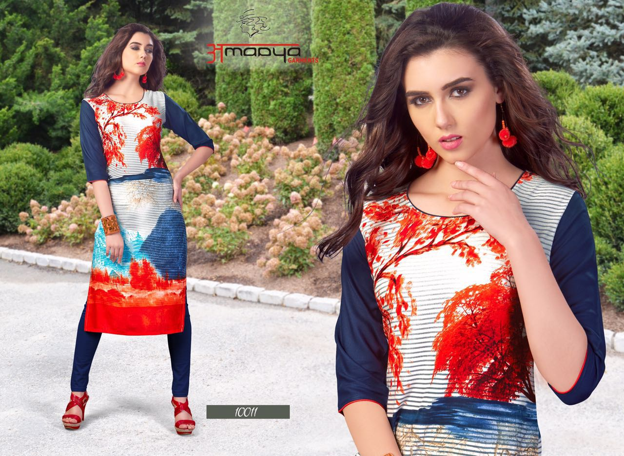 GRACE VOL-6 New Arrival Rayon Print Kurtis Collection