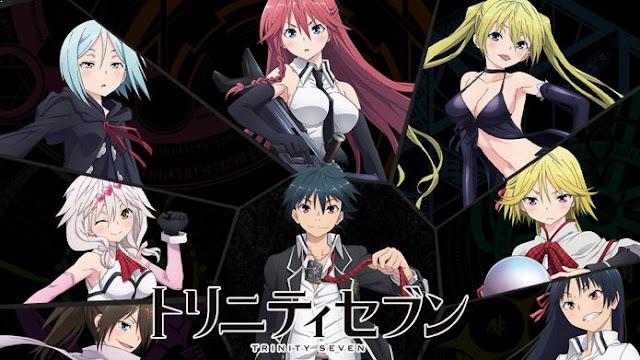 Trinity Seven - Anime Action Romance Harem Terbaik