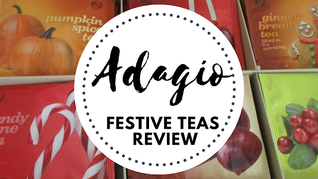 Adagio Festive Teas Review