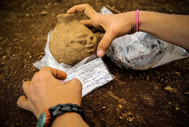 1,200 year old cemetery unearthed in Nicaragua