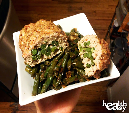 String Bean Surprise Mini Meatloaf