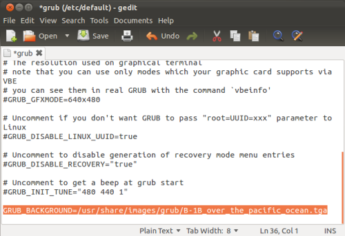 Ubuntu Tips And Tricks: Change The Purple Background (Splash