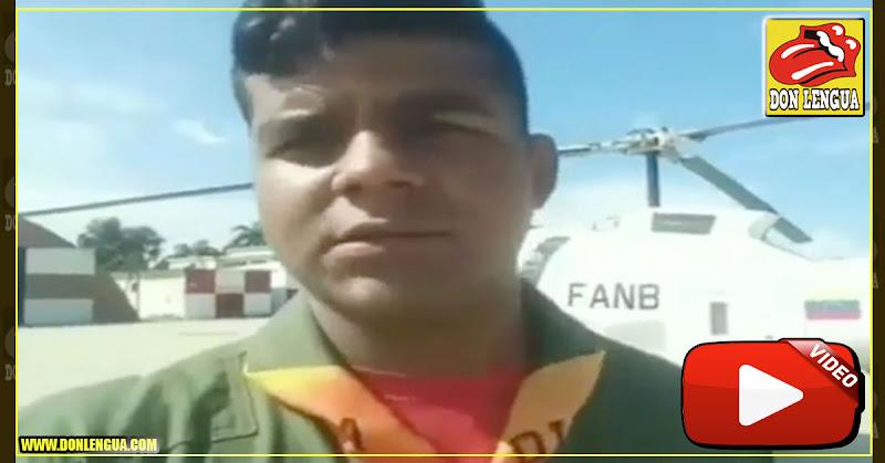 Primer teniente de la Aviación desconoció a Maduro y le rompió el carnet
