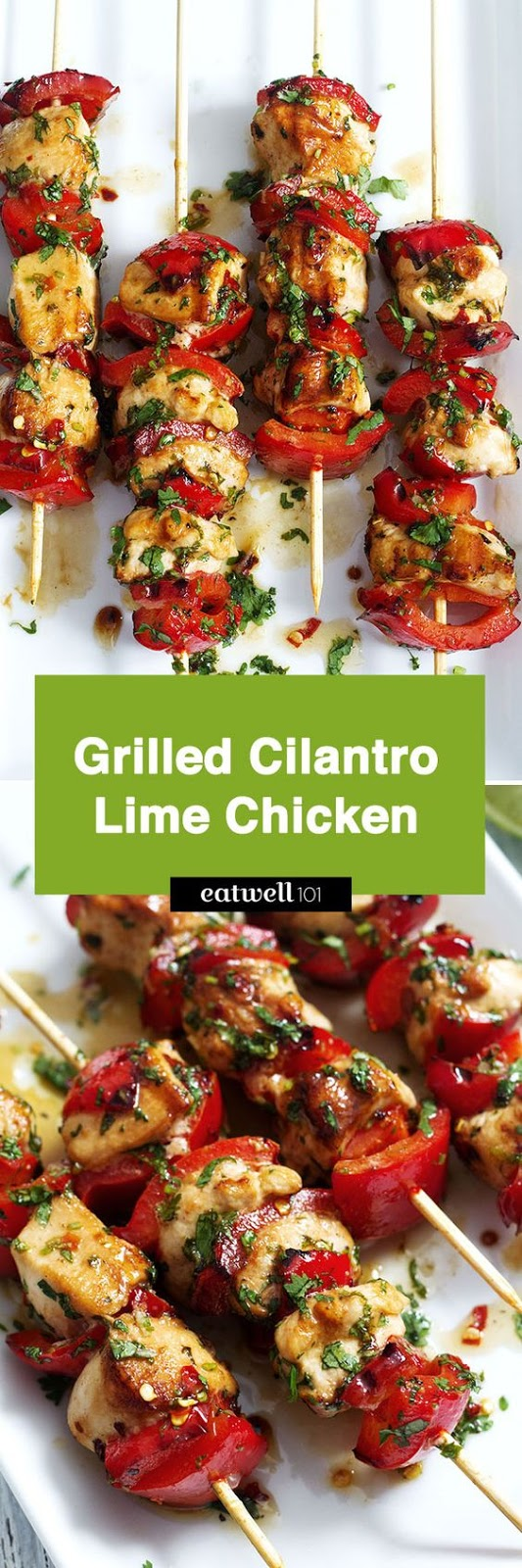 Best Grilled Honey Chili Lime Cilantro Chicken Recipe