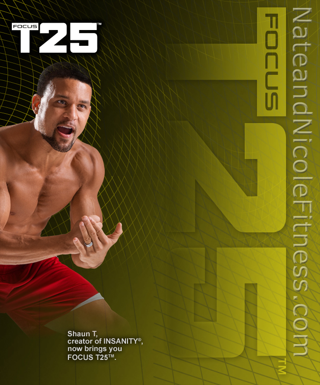 Insanity Workout T25: NateandNicoleFitness.com: Focus T25 Results With Shaun T