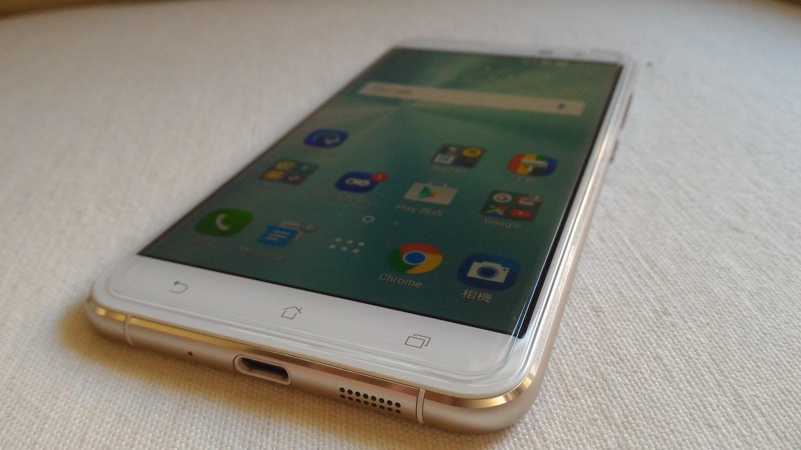 P 20170126 162559 - [開箱] 平價奢華 Zenfone 3 ZE552KL 月光白 4G/64G,外型大進化、CP值破表!