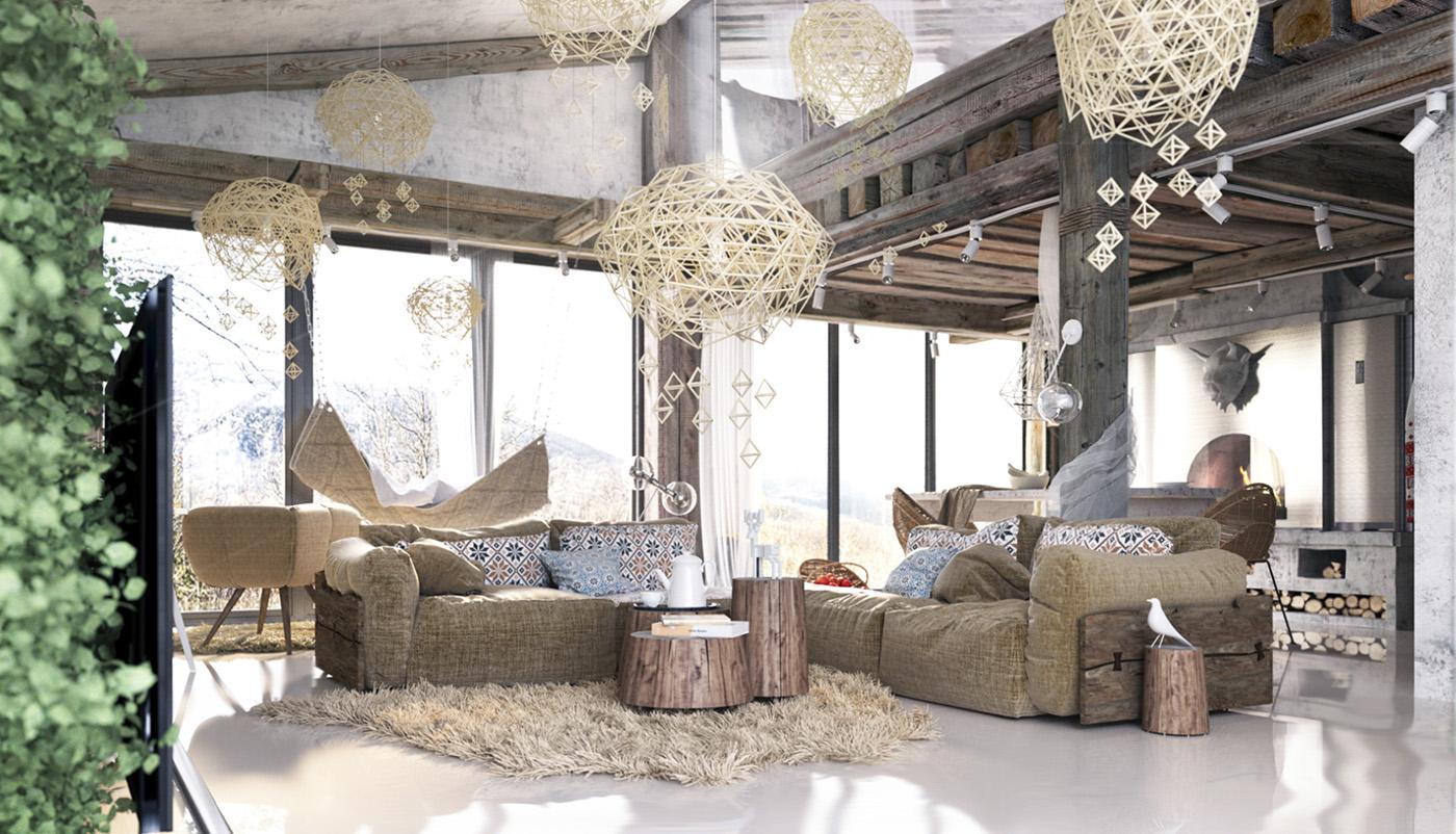 Project] Proyecto de cabaña reconvertida en vivienda – Virlova Style