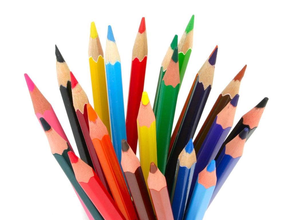 Love Wallpaper: Gambar-Gambar Pensil Warna Cantik