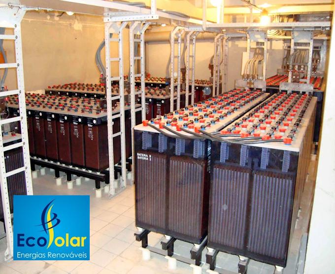 Componentes do Sistema Solar Fotovoltaico: Baterias