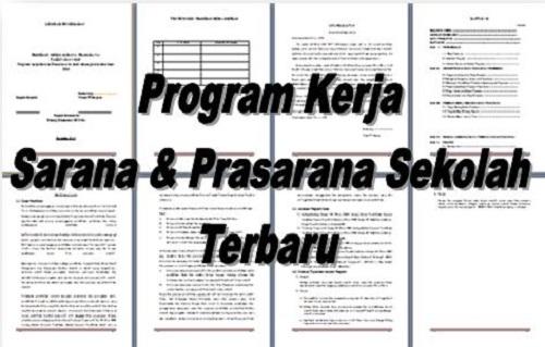 Program Kerja Sarana Dan Prasarana Sekolah Terbaru