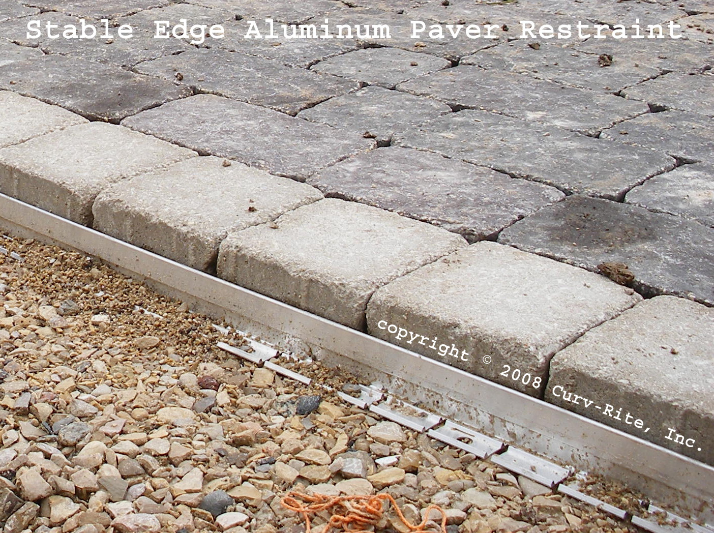 Paver Garden Edging Ideas. Picture The Paver Edging Will Help Keep .