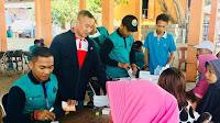 Anggota DPR RI HM. Syafruddin Hadiri Operasi Bhakti TNI AL di Pulau Bungin