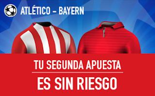 sportium Atlético vs Bayern segunda apuesta sin riesgo 28 septiembre