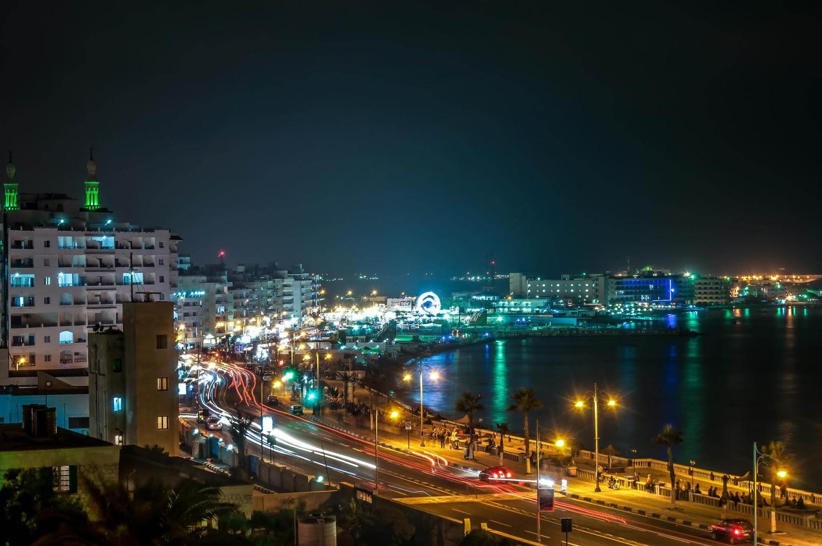 تقسيم أراضي للبيع في مرسي مطروح في شارع علم الروم منطقة متميزة