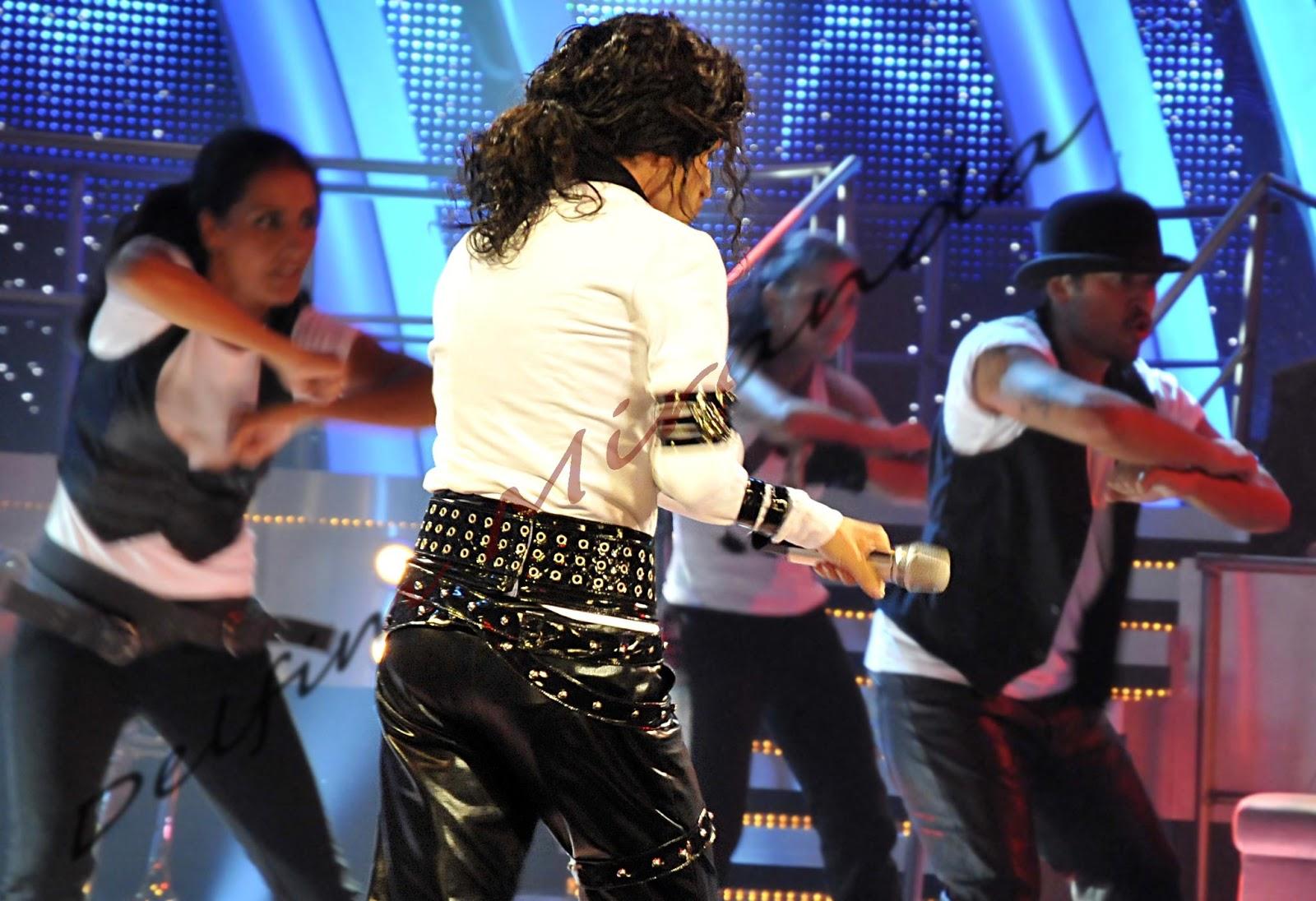 "Delfim Miranda - Michael Jackson Tribute - Bad - TV program ""The One & Only"" - TVI/Endemol"