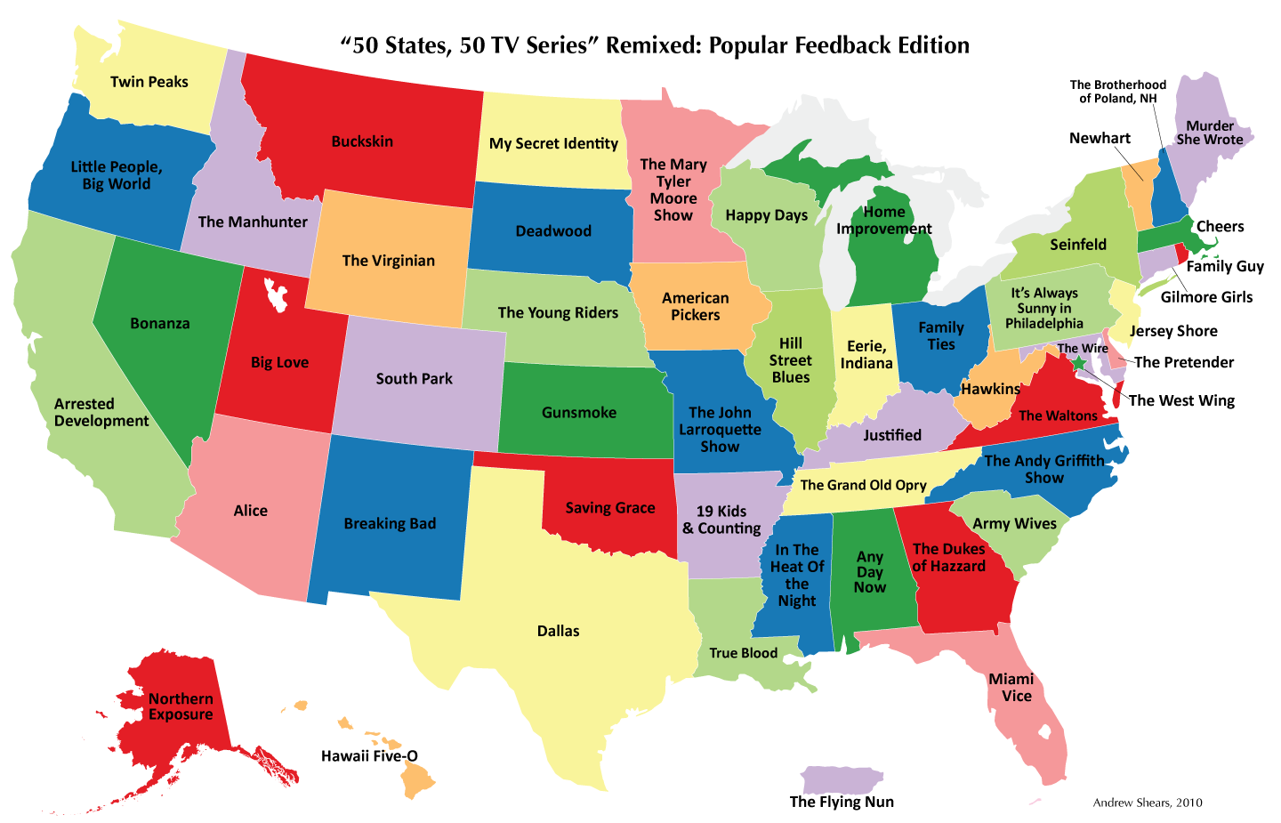 Tech Media Tainment U S Maps Showing Movie And Tv Show