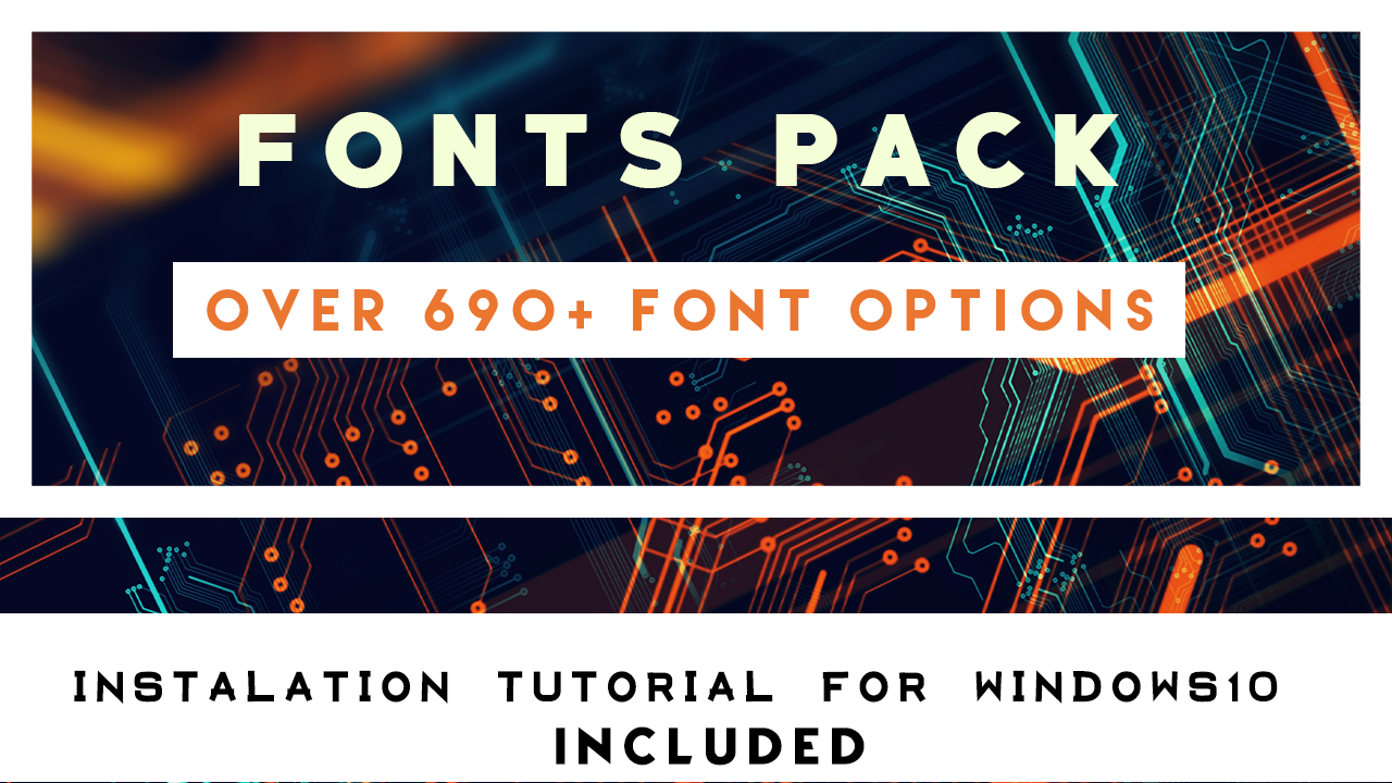 Download FONTS PACK FOR WINDOWS/ANDROID/IOS/MAC - PIXEL EVERYTHING