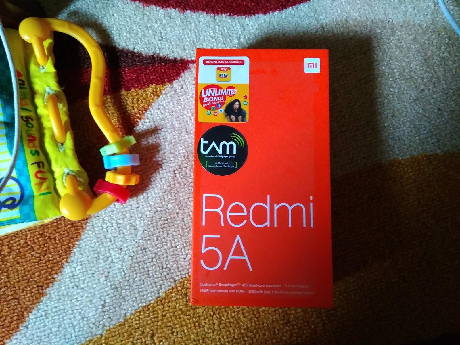 Xiaomi Redmi 5A box