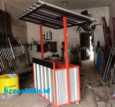 Jasa Gerobak Besi di Bandung dan sekitarnya Harga bersaing