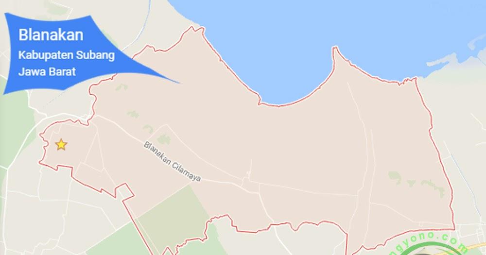 Kecamatan Blanakan, Kabupaten Subang, Jawa Barat