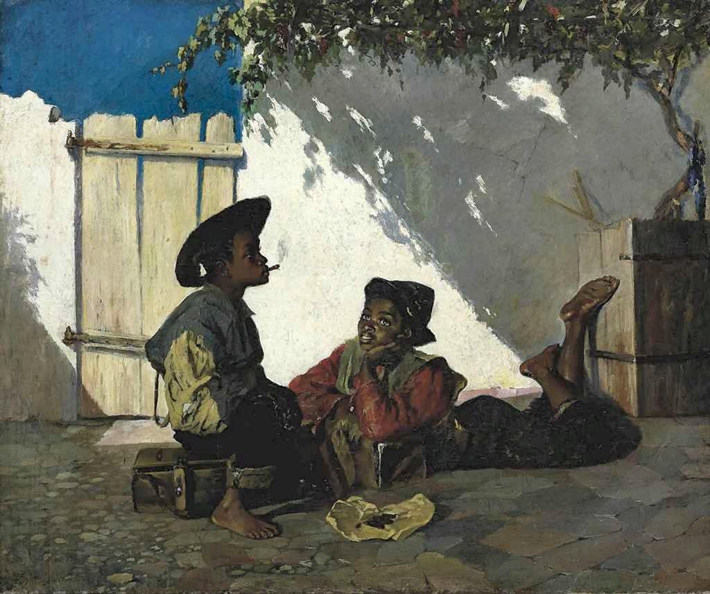 Frank Buchser   Orientalist painter   Tutt'Art@   Pittura ...
