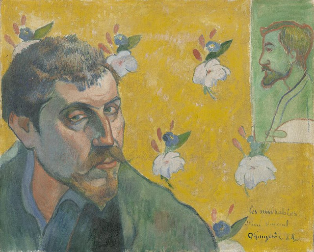 What are the Most Interesting Facts about Paul Gauguin?/Self Portraits, (1888), Paul Gauguin