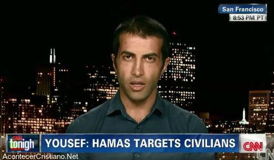 Mosan Hassan Yousef Ex miembro de Hamás