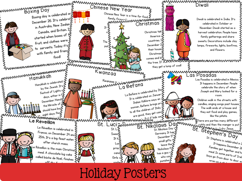 Holidays Around The World En Dos Lenguas Journey Of A