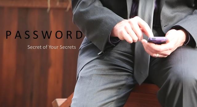 password is secret of your secrets