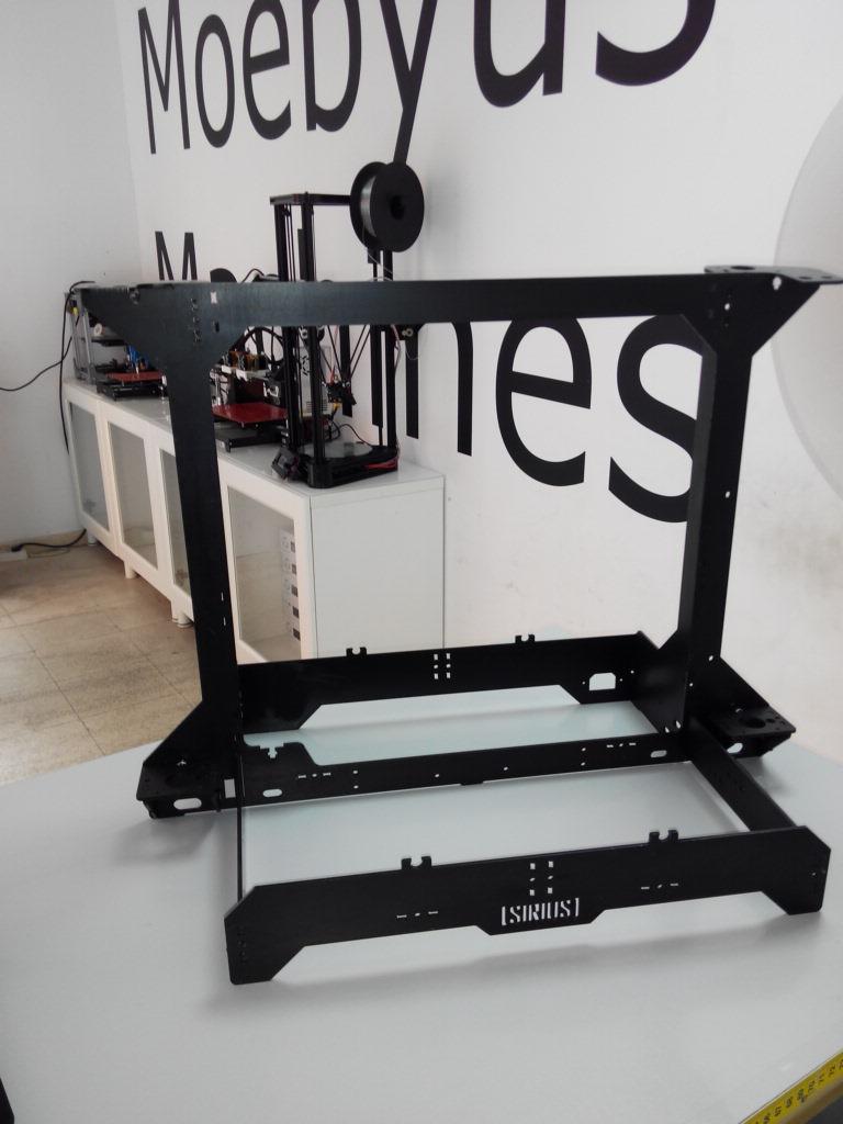 Ingenio Triana: SIRIUS: La impresora 3D con doble extrusor ...